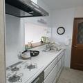 2階LDKシステムキッチンの入替工事・・・娘さん夫婦と孫が一堂に会せる幸せな時間を